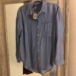 Button Up Top Never Worn
